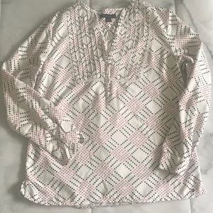 Tommy Hilfiger XL peasant style blouse.